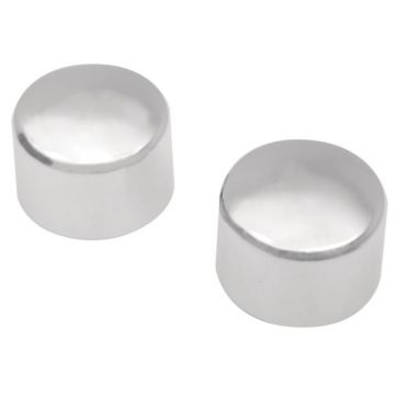 Chrome Rear Axle Nut Cover Caps for 2000-2007 Harley-Davidson Softail models