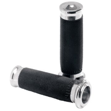 PM Performance Machine Chrome Contour Grips for 2008 & Newer Harley-Davidson Touring models
