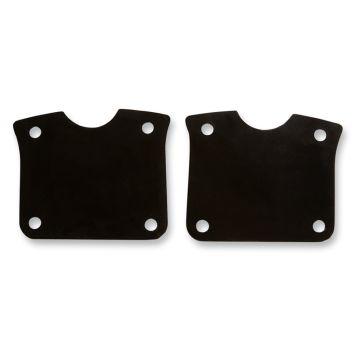 "Black Fender Riser Brackets for 23"" Wheel on 2014 & Newer Harley-Davidson Touring models"