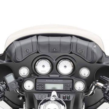 Saddlemen Cruis'n Deluxe 3-Pocket Windshield Bag Harley Electra Street Glide