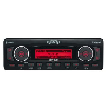 Jenson AM-FM, XM Ready Radio for 1998-2013 Harley-Davidson Touring models with Fairings