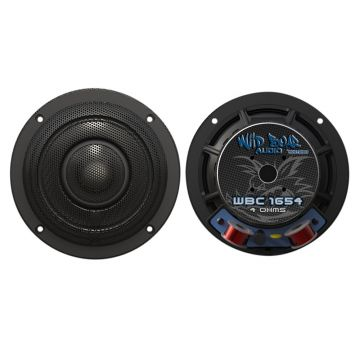 "Wild Boar Audio 200 Watt 4 Ohm 6.5"" Front Speakers for 2014 and Newer Harley-Davidson Street Glide, Ultra Classic, Ultra Limited and Trike models"