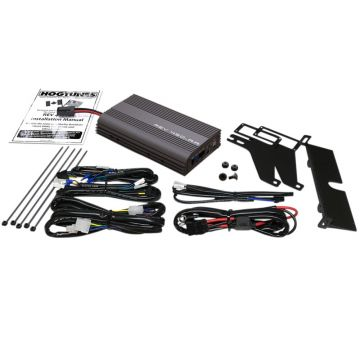 Hogtunes Rev Series 200 Watt 4 Channel 2 Ohm Amplifier Kit for 1999-2013 Harley-Davidson Road Glide models