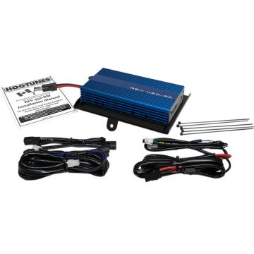 Hogtunes Rev Series 200 Watt 4 Channel 2 Ohm Amplifier Kit for 2015 and newer Harley-Davidson Road Glide models