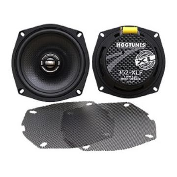 "Hogtunes 352-XLF 5.25"" Front Speakers for 2006-2013 Harley-Davidson Classic, Ultra, Limited, Street Glide and Road Glide models"