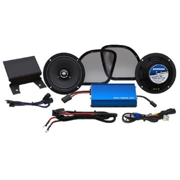 Hogtunes 225 Watt 2 Speaker Amplifier Kit for 2015 and newer Harley-Davidson Road Glide models