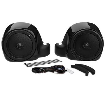 Hogtunes Lower Fairing Speaker Kit for 2014 and newer Harley-Davidson TWIN-COOLED models
