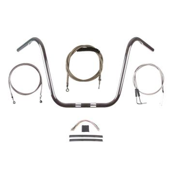 Build Your Own Custom Dyna Fat Bob 2012-2017 BASIC Ape Hangers Handlebar DIY kit