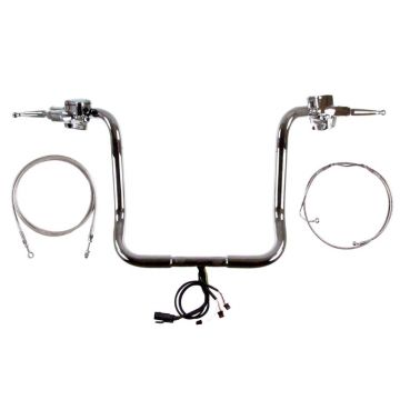 Build Your Own Custom Street Glide, Electra Glide, and Ultra Classic 2014-2021 COMPLETE Ape Hangers Handlebar DIY kit