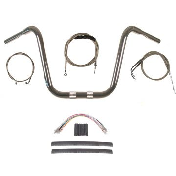 Build Your Own Custom Dyna Wide Glide 2012-2017 BASIC Ape Hangers Handlebar DIY kit