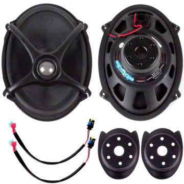"J&M Audio ROKKER XX 5x7"" Replacement Speaker kit for 2006 & Newer Harley-Davidson BOOM Saddlebag Lids"