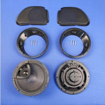 """J&M Audio 6.58"""" Fairing Speaker kit 2006-2013 Harley-Davidson Road Glide models"""