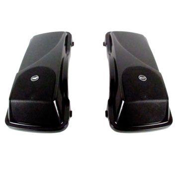 """J&M Rokker XXR 5 x 7"""" Saddlebag Lid Speaker kit for 1998-2013 Harley-Davidson Touring models"""