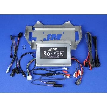 J&M Audio XXRP STAGE 5 800 Watt 4 Channel Amp Kit for 2014 and Newer Harley-Davidson Street Glide models