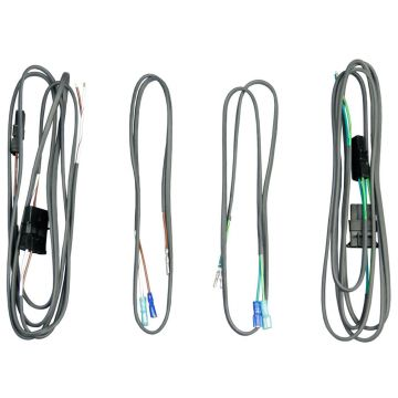 J&M Audio Rear Speaker Wiring Harness kit for 1998-2013 Harley-Davidson Touring models with Radio