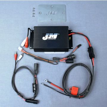 J&M Audio 200 Watt 2 Channel Performance Amplifier Kit for 2015 and Newer Harley-Davidson Road Glide models