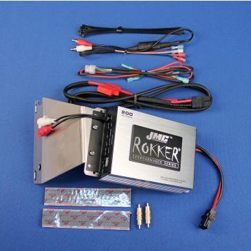 J&M Rokker 200 Watt, 2 Channel Amp kit 2006-2013 Harley-Davidson Road Glide models