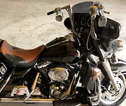 Harley Davidson 2006 Ultra Classic Standard 15 inch Z Bars Ape hangers Testimonial