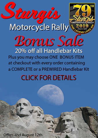 Sturgis Rally Handlebar Kit Bonus Sale