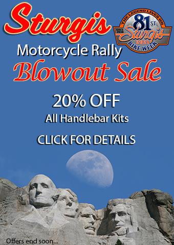 Sturgis Rally Handlebar Kit Blowout Sale