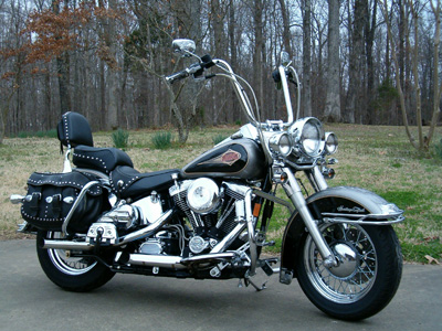1996 Softail Heritage With 16 Inch Apes