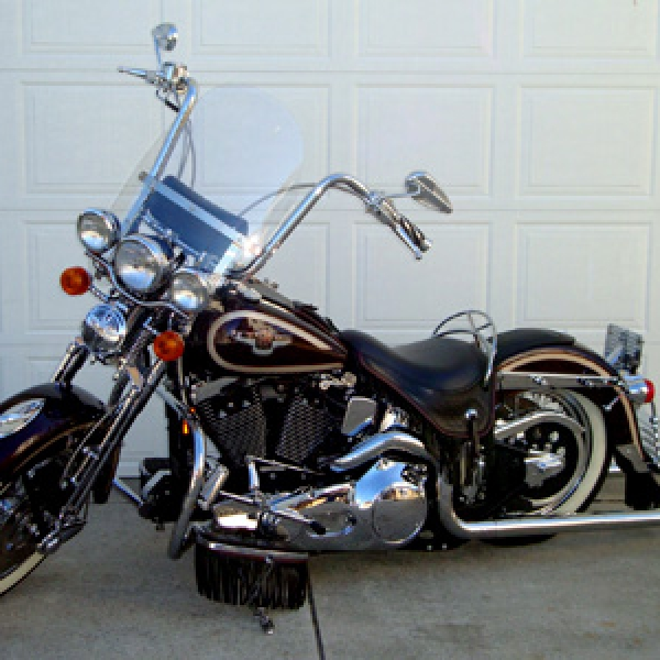 1997 Softail Heritage Springer With 16 Inch Ape Hangers