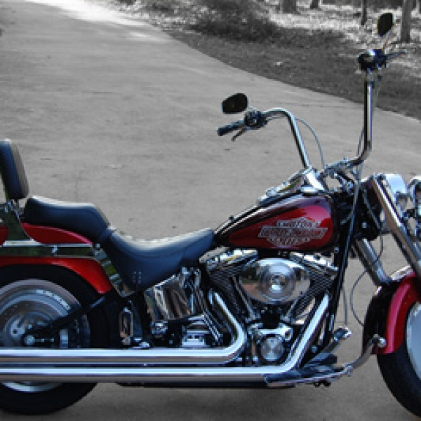 2004 Softail Fat Boy With HCC 14 Inch Apes