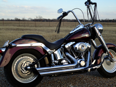 2006 Softail Fat Boy With 14 Inch Apes