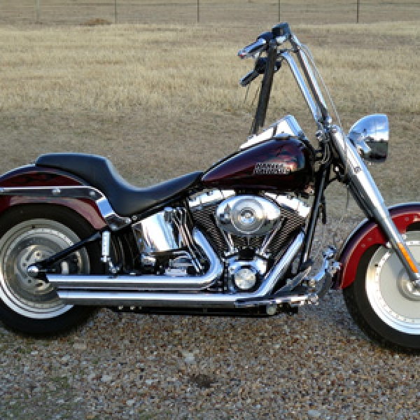 2006  Softail Fatboy With 14 Inch Apes