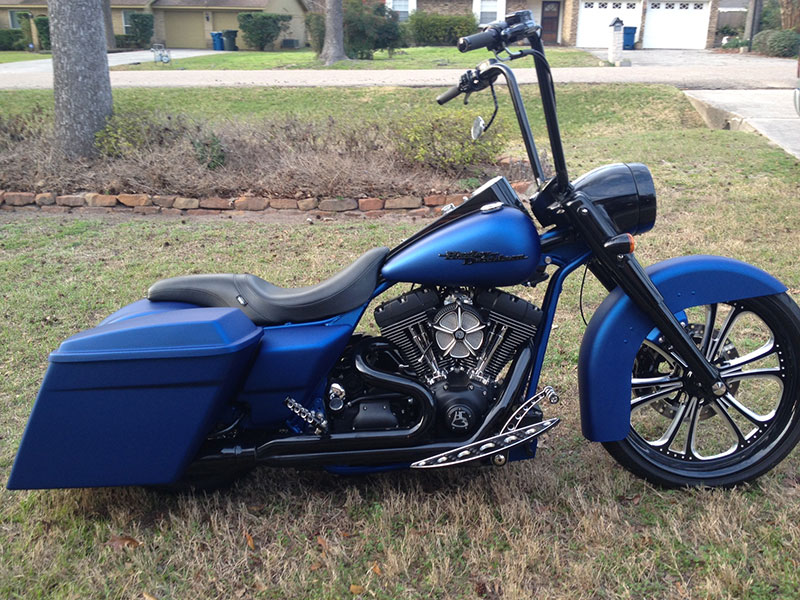 Road King – Hill Country Custom Cycles Photo Gallery