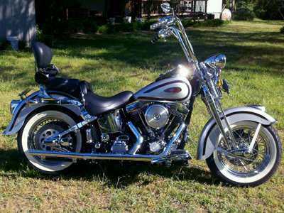 Softail Springer with 16 inch HCC Apes installed
