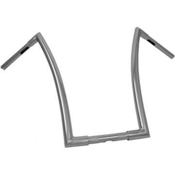 "1 1/4"" TODDS Cycle Strip Handlebars 20 inch Chrome"