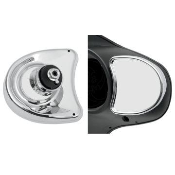 Chrome Fairing Mount Mirrors for 2006-2013 Harley-Davidson Street Glide models