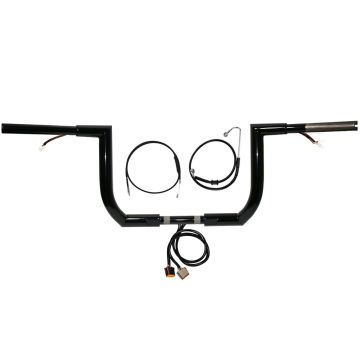 HCC 1 1/2 JARHEAD Ape Hanger PREWIRED Handlebar KIT as seen on YOU TUBE for 1997-2013 Street Glide, Electra Glide, and Ultra Classic Harley Davidson