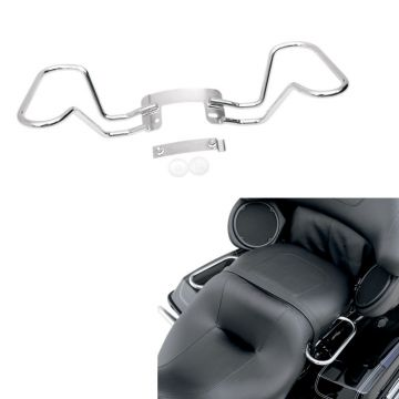 Chrome Passenger Hand Rail Kit for 2009-2013 Harley-Davidson Touring models
