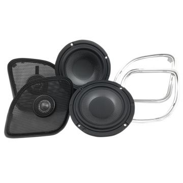 "Wild Boar Audio 200 Watt 4 Ohm 6.5"" Front Speakers for 2015 and Newer Harley-Davidson Road Glide models"