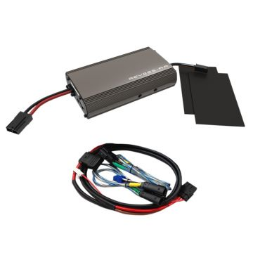 Hogtunes 225 Watt 2 Channel 2 Ohm Amplifier Kit for 1999-2013 Harley-Davidson Street Glide, Ultra Classic, Limited and Trike models