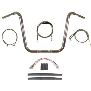 Build Your Own Custom Softail 2018-2019 True 1 1/4 inch BASIC Ape Hangers Handlebar DIY kit