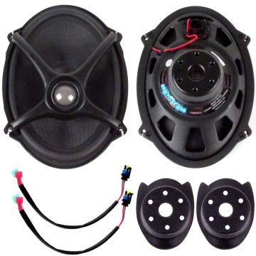 "J&M Audio ROKKER XX 5x7"" Replacement Speaker kit for 2006 & Newer Harley-Davidson BOOM Saddlebag Lids"