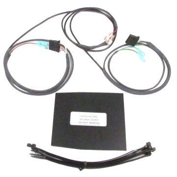 J&M Audio Lower Fairing Speaker In-Series Wiring Kit for 2006-2013 Harley-Davidson Touring models