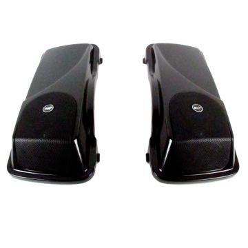 "J&M Rokker XXR 5 x 7"" Saddlebag Lid Speaker kit for 1998-2013 Harley-Davidson Touring models"