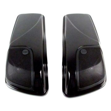 "J&M Rokker XXR 5 x 7"" Saddlebag Lid Speaker kit for 2014 and Newer Harley-Davidson Touring models"