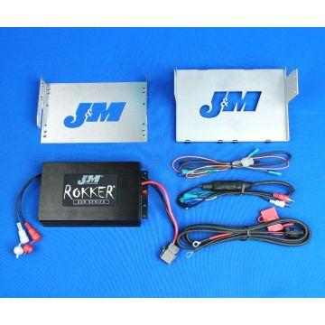 J&M Audio 400 Watt 2 Channel Amp Kit for 2006-2013 Harley-Davidson Electra Glide Street Glide Trike models