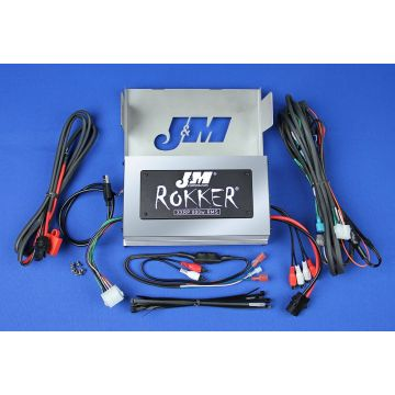 J&M Audio XXRP 800 Watt 4 Channel Amp Kit for 2006-2013 Harley-Davidson Ultra Classic Limited models