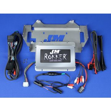 J&M Audio XXRP 800 Watt 4 Channel Amp Kit 2014 and Newer Harley-Davidson Ultra Classic Limited models