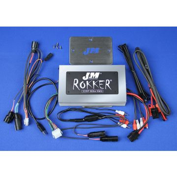 J&M Audio XXRP STAGE 5 800 Watt 4 Channel Amp Kit for 2015 and Newer Harley-Davidson Road Glide models