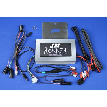 J&M Audio XXRP 800 Watt 4 Channel Amp Kit for 2015 and Newer Harley-Davidson Road Glide models