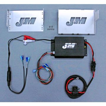 J&M Audio 200 Watt 2 Channel Amplifier Kit for 2006-2013 Harley-Davidson Electra Glide Street Glide Trike models