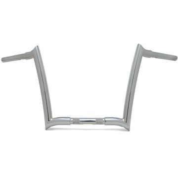 Paul Yaffe True 1 1/4 inch OEM Monkey Bars 12 inch Chrome for 2015-Present Road Glide