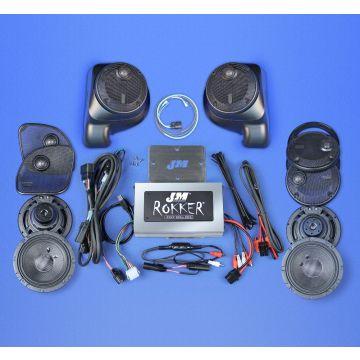 J&M Audio STAGE 5 XXR 6 Speaker 800 Watt Amp Kit for 2016 and newer Harley-Davidson Road Glide Ultra, Limited